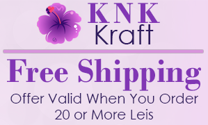 K N K Kraft - Free Shipping, Offer Valid When You Order 20 or More Leis